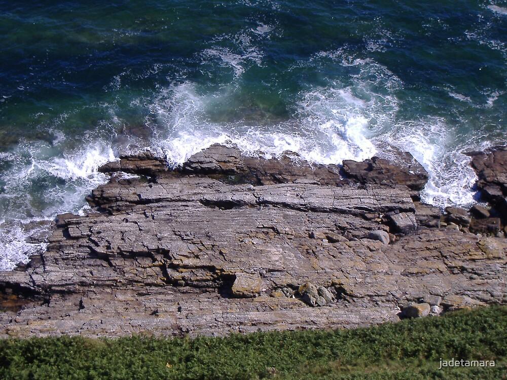 rocks edge by jadetamara