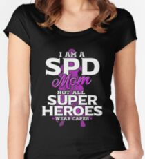 SPD Mom Women's Fitted Scoop T-Shirt