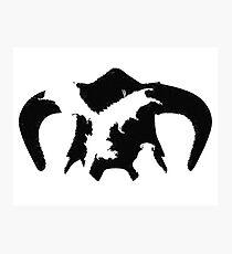 Elder Scrolls V Skyrim Dragonborn Photographic Print