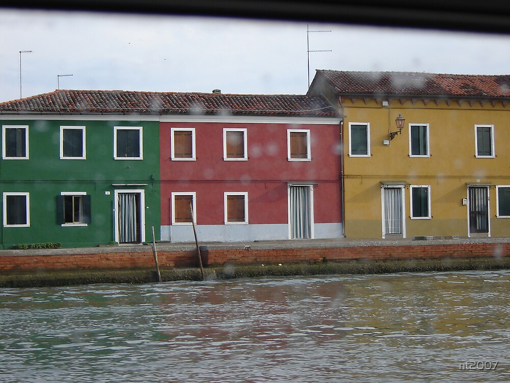 Burano (Italy) and street lights by nt2007
