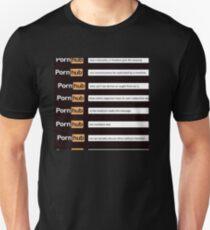 Pornhub Existentialism Unisex T-Shirt
