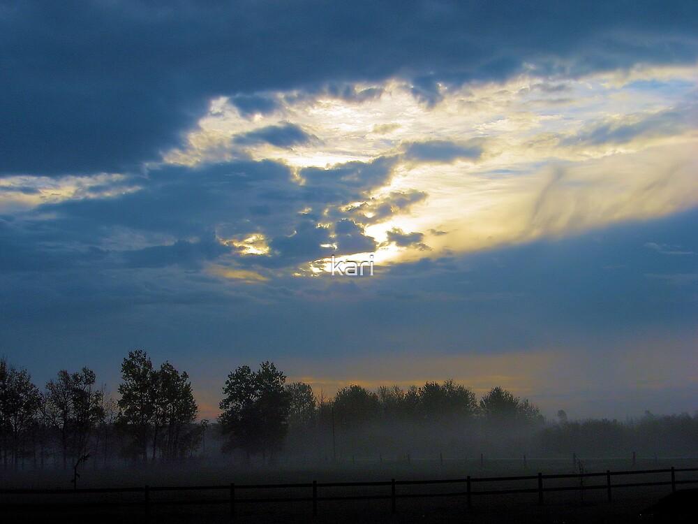 Misty Morning by kari
