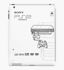 Playstation 2 Blueprint iPad Case/Skin