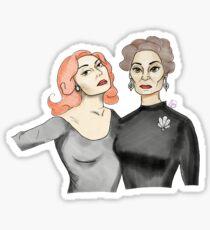 Bette & Joan Duo Sticker