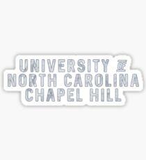 UNC Chapel Hill - Style 6 Sticker