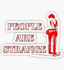 People Are Strange Sticker