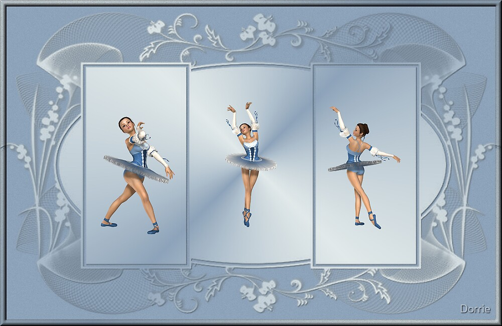 Three Ballarinas by Dorrie