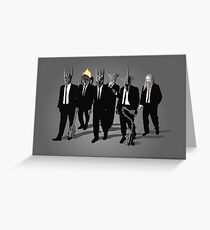 Reservoir Lords ( Mace Variant) Greeting Card