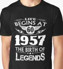 life begins in 1957  Graphic T-Shirt