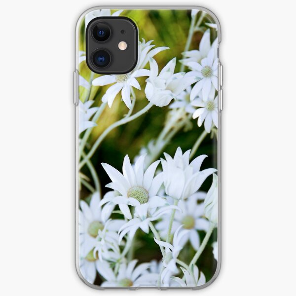 Daisys at sunset iPhone Soft Case