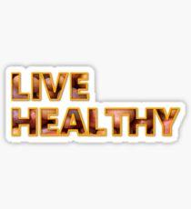 live healthy #potato Sticker