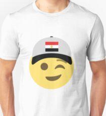 Egypt Emoji Wink Baseball Hat  T-Shirt