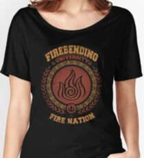 Firebending university Women's Relaxed Fit T-Shirt