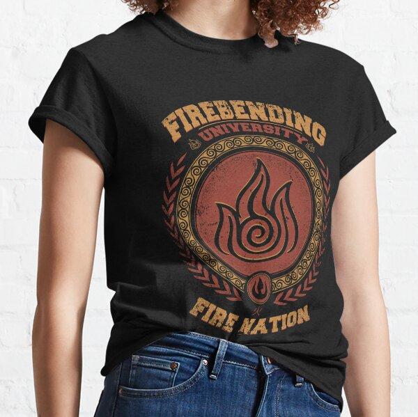 Avatar Firebending - Iroh university - Zuko Fire nation - Avatar last airbender Classic T-Shirt