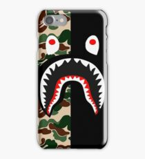 Bape Shark - Camouflage iPhone case iPhone Case/Skin