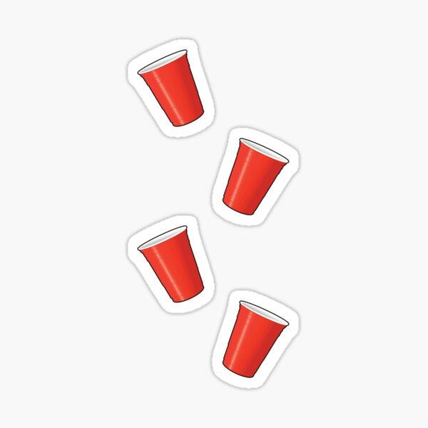 Solo Cup Pattern Sticker