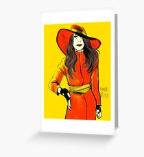where in time  Greeting Card