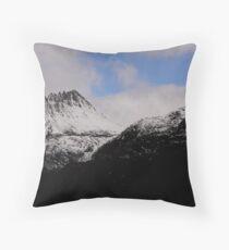 Tasmania 'The Snowy Cradle Mt' Throw Pillow