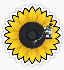 Sunflower Turntable Sticker