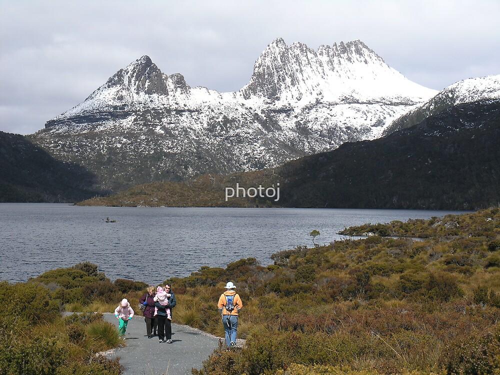 Tasmania Cradle Mt-Lake Dove by photoj