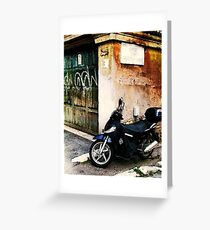 Downtown Sorrento, Italy Greeting Card
