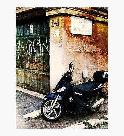 Downtown Sorrento, Italy Photographic Print
