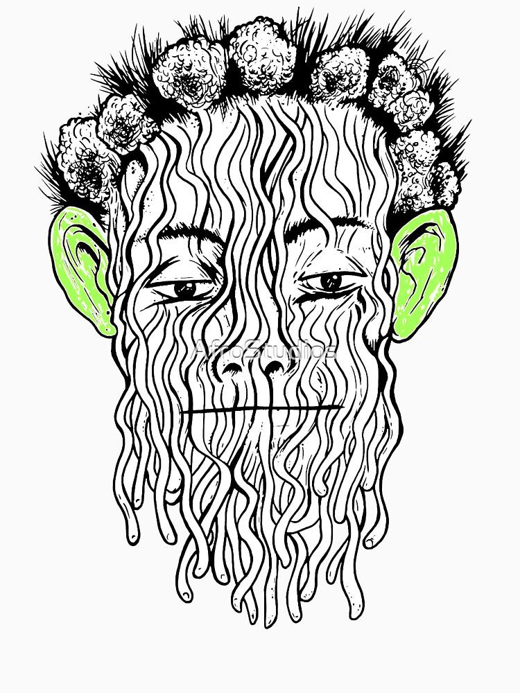 True Detective - Spaghetti Monster by AfroStudios