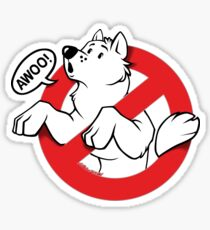 Awoobusters (Parody) Sticker