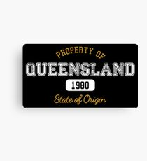 Property of QLD Canvas Print