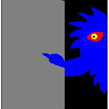 Cupboard Monster by rufflesal
