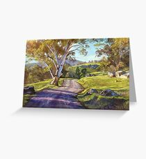 Spring in the Valley - Trawool Greeting Card
