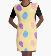 Easter Egg  Graphic T-Shirt Dress