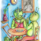 family dinner by yabloko4
