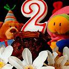The BIG Two Birthday Invite by kaneko