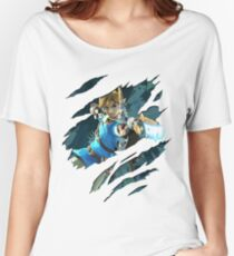 LINK! from Zelda: Breath of the Wild Women's Relaxed Fit T-Shirt