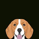 Darby - Beagle phone case gift ideas for beagle owners and gifts for dog person by PetFriendly