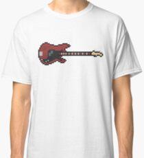 Pixel NM Precision Bass Guitar Classic T-Shirt