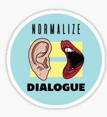 NORMALIZE DIALOGUE Sticker