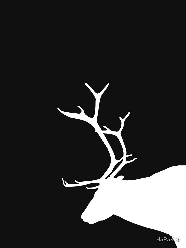 White Reindeer by HaRaKiRi