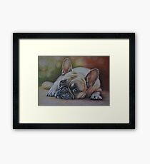 Life's Tough Framed Print