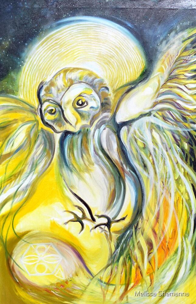 White Owl by Melissa Shemanna