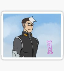 GoLion VLD Redraw - Shiro Sticker