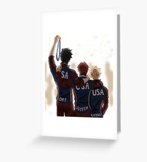 Victory Post-Palmetto Greeting Card