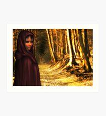 Red Riding Hood - Rose & Hans Kawitzki Art Print