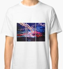Neon UFA Triptych Number 1 Classic T-Shirt