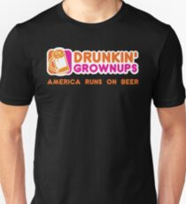 Drunkin Grownups (America Version) Unisex T-Shirt