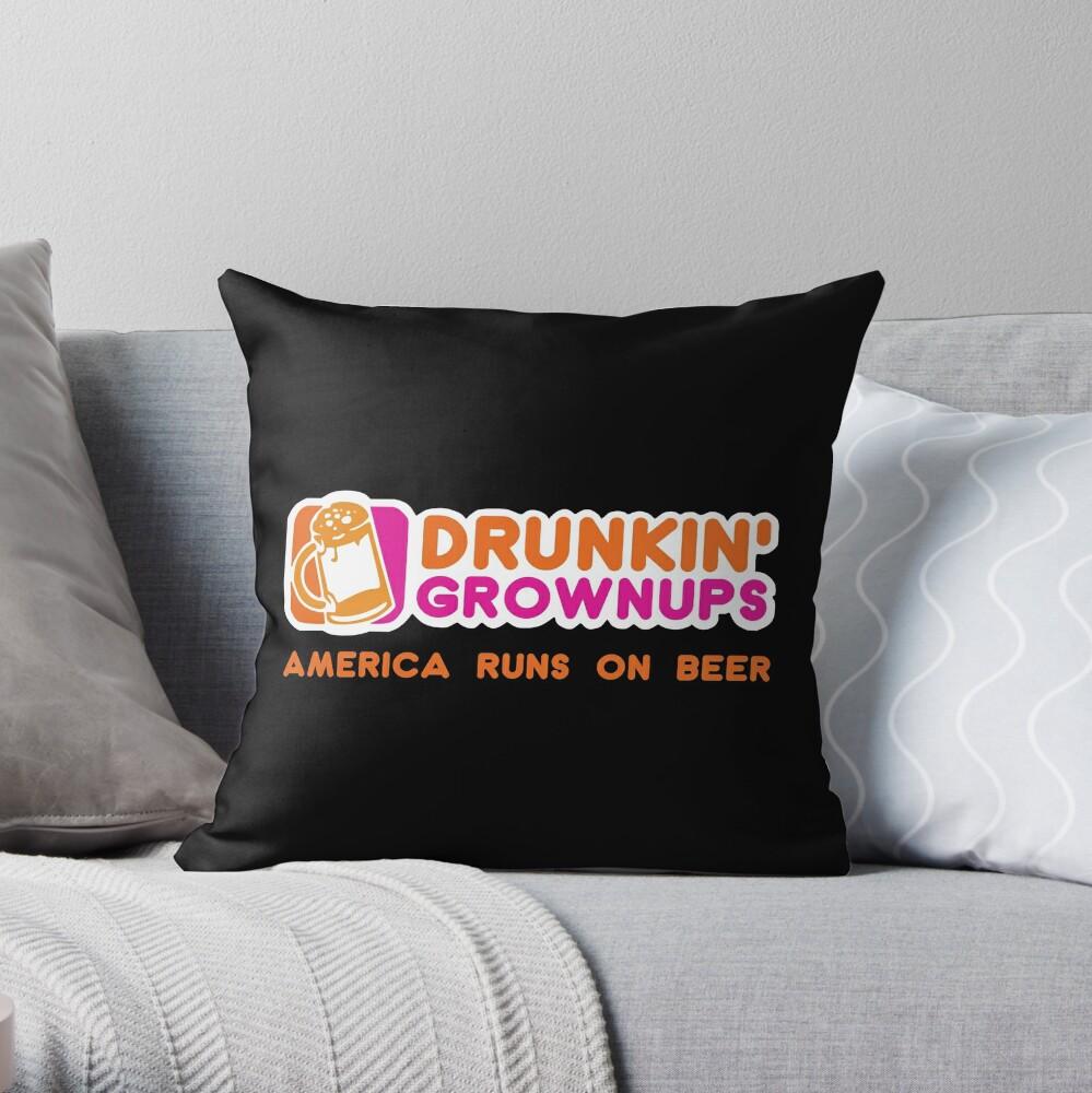Drunkin Grownups (Amerika Version) Dekokissen