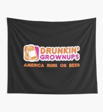 Drunkin Grownups (America Version) Wall Tapestry