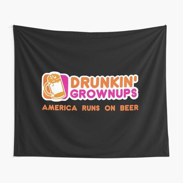 Drunkin Grownups (America Version) Tapestry