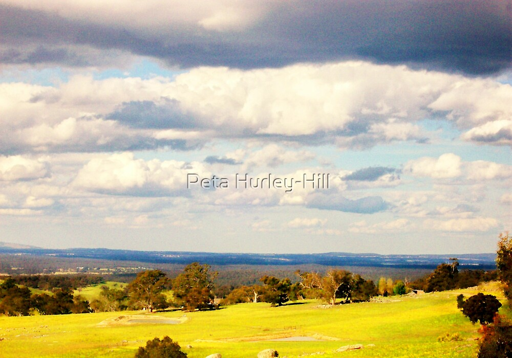 clouds by Peta Hurley-Hill